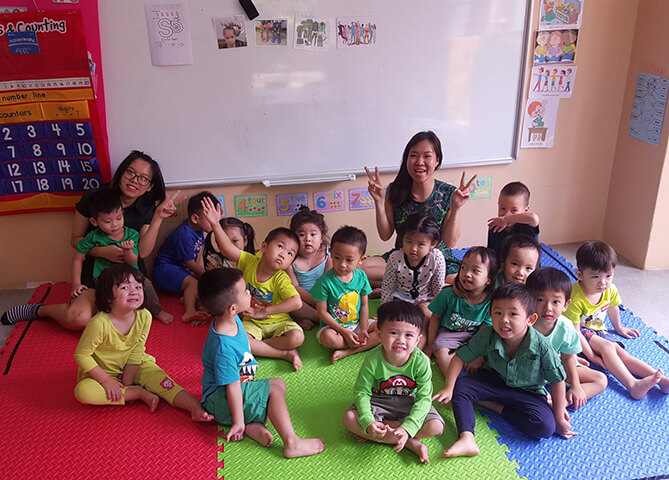 Children celebrate Dr. Seuss Week