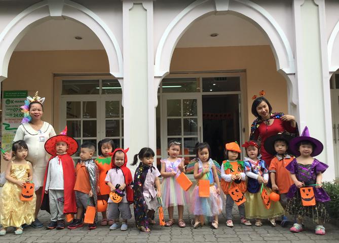 Halloween at KIK Ciputra