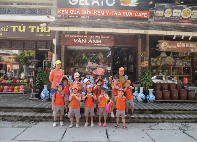 Visited Bat Trang Pottery Village