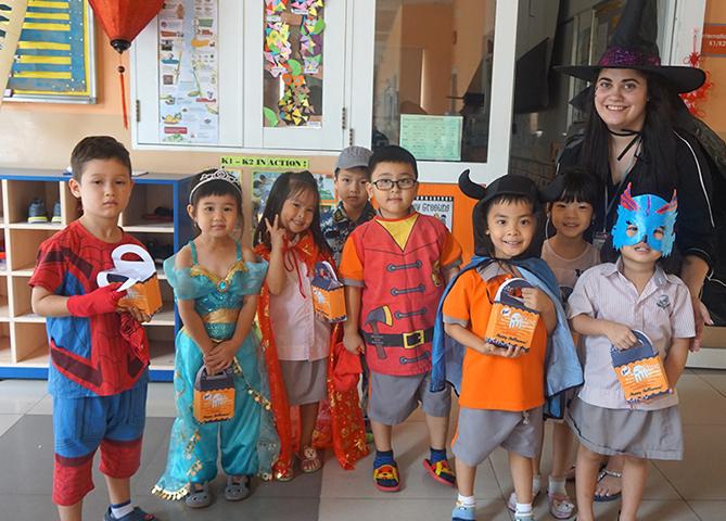 Halloween at Saigon South