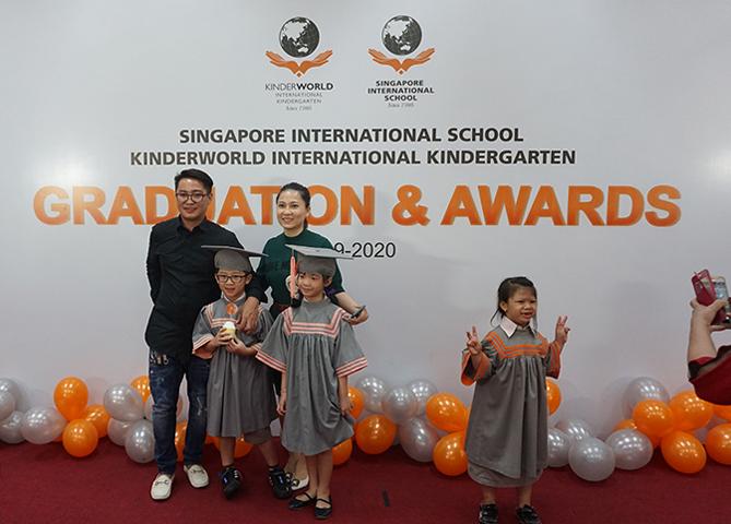 2019-2020 Graduation Ceremony at Saigon South