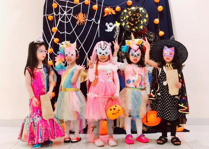 Happy Halloween at KIK Hanoi Towers